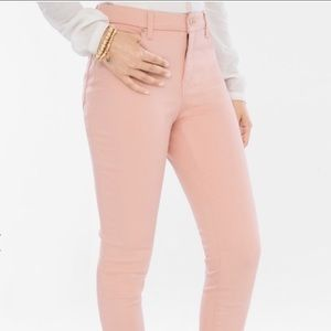 PACSUN Baby Pink Stretch Jegging Skinny Jeans